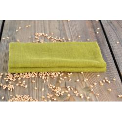 Linen napkin - sunny green