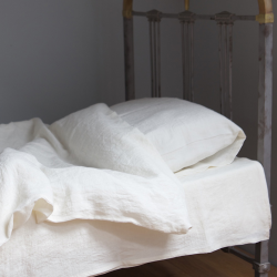Linen bedding - natural