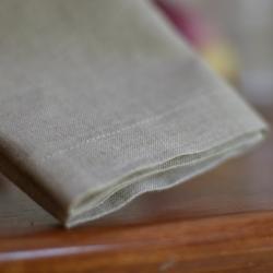 Linen napkin - natural