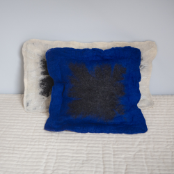 Felt pillow - square