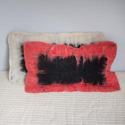 Filcowa poduszka - prostokątna