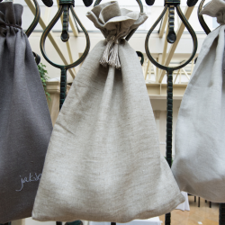 Linen bag - natural
