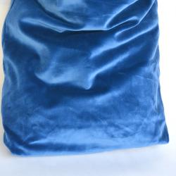 Siatka aksamitna - niebiesko/szara