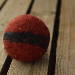 Mydełko filcowe - czerwone