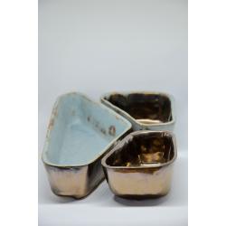 Ceramiczny zestaw do zapiekania i serwowania
