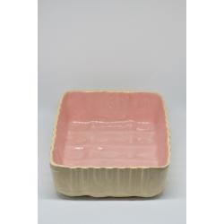 Ceramiczny pojemnik, forma na ciasto