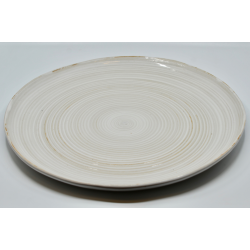 Talerz ceramiczny biały