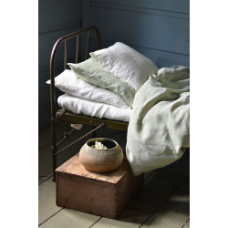Linen bedding-green