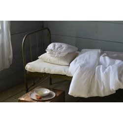 Linen bedding-white