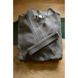 Linen robe - male